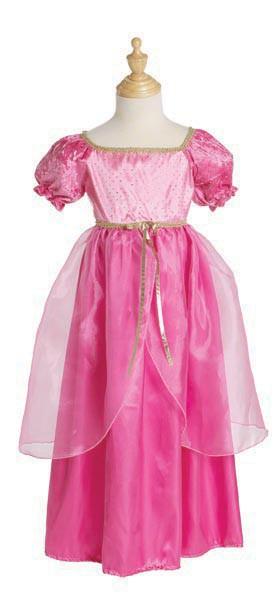 Prinzessin Kinderkostüm Juliette in zartem rosa und pink