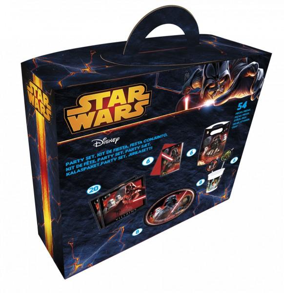 Partyset Star Wars 54 Teile - Partydeko Set für Kindergeburtstage