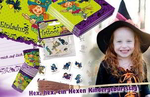 Hexenparty Kindergeburtstag