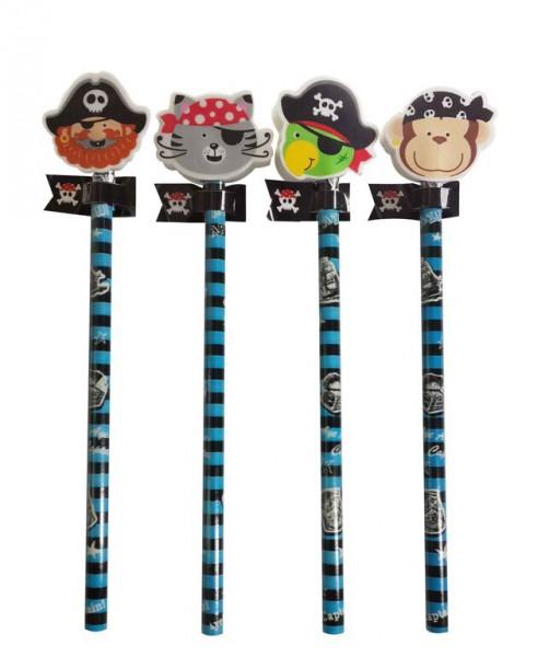 Bleistifte mit Piratenmotiv