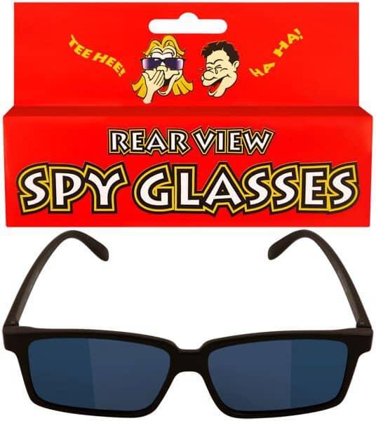 Agenten/Detektiv Brille mit Rückspiegel