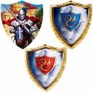 Ritterliche Wand Deko Wappen | Ritterschild basteln