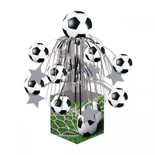 """Tischdeko """"Fußball-Fontäne"""" 32 cm - Fussball Partydeko"""