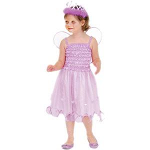 Feenkostüm Kinder | Mädchen Kostüm mit Feenflügel  in lila
