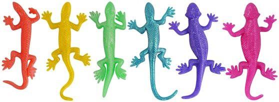 Stretch Eidechse in verschiedenen Farben