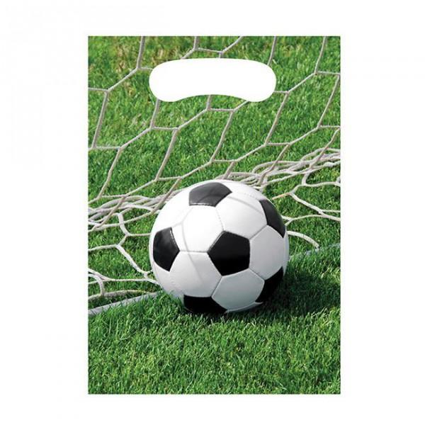 8 Becher für eine Fußball Mottoparty