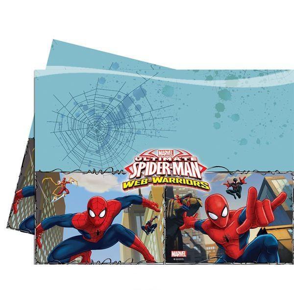 Ultimate Spiderman – Tischdecke 120x180 cm im Comic-Style, Tischdecken mit Spiderman MOtiv