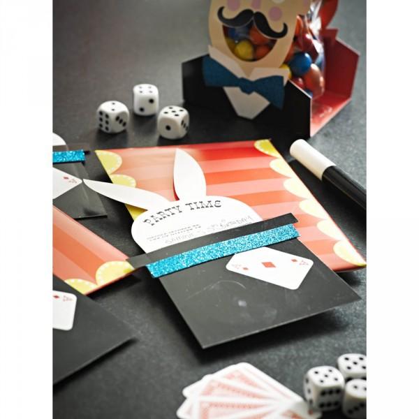 Zauberparty - EInladungskarten für Kindergeburtstag