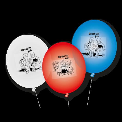 """Luftballon-Set """"Die drei Fragezeichen Kids"""" - 9-teilig"""