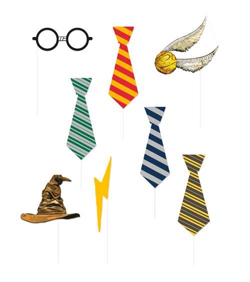 """Photobooth-Props """"Harry Potter"""" - 8 Stück - Foto-Spaß für Groß und Klein"""