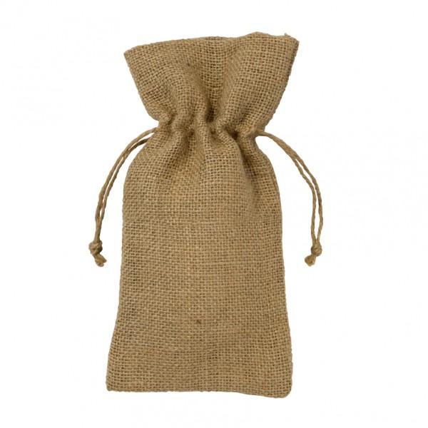 6 Jutesäckchen mit Band für kleine Geschenke und Mitgebsel