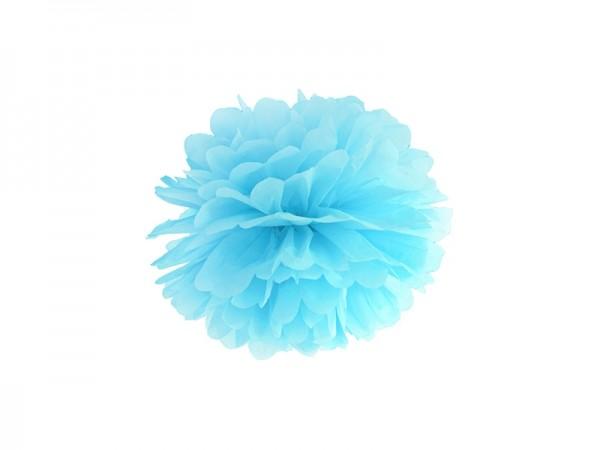 Pom Pom - 25 cm - hellblau