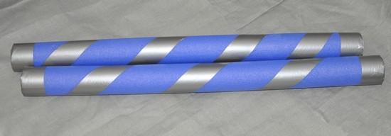 blaue ritter lanzen selbst gebastelt