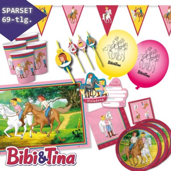 Partyset Bibi & Tina 69-teilig
