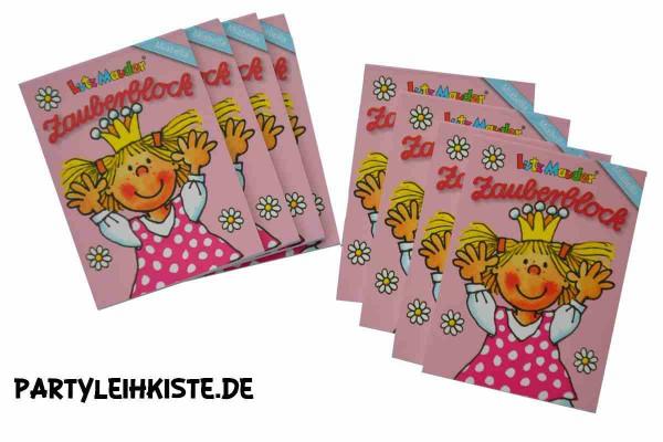 "Zauberblock ""Prinzessin Miabella"" 8er Mitgebsel Set"