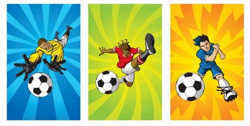 Notizblock Fussball - Mitgebsel für Fußball Kindergeburtstag