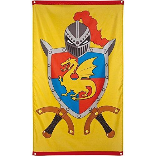 Mittelalterliche Ritterfahne 90x150 cm