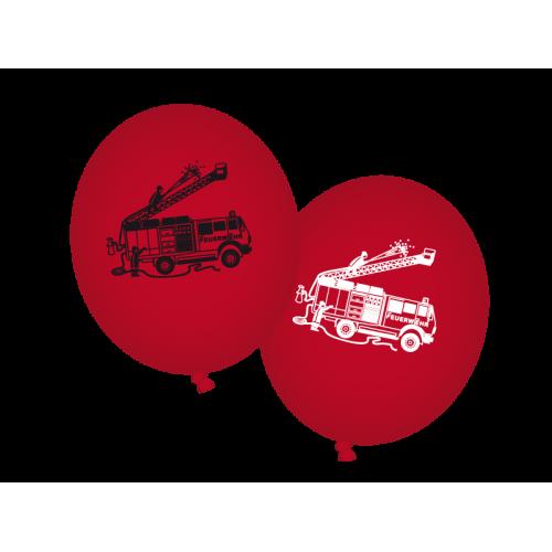"""Luftballons """"Feuerwehr"""" 8er Pack online kaufen"""