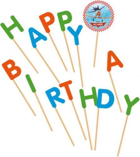 """Happy Birthday Geburtstagskerzen """"Planes"""" 14-tlg. ✔ mit Dusty und Skipper und Ripslinger ✔"""