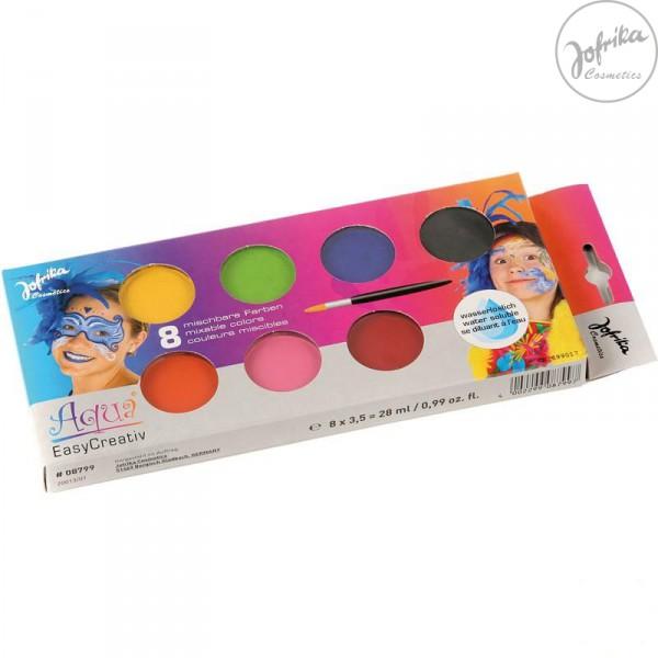 Schmink-Palette, inkl. Pinsel von Jofrika Cosmetics
