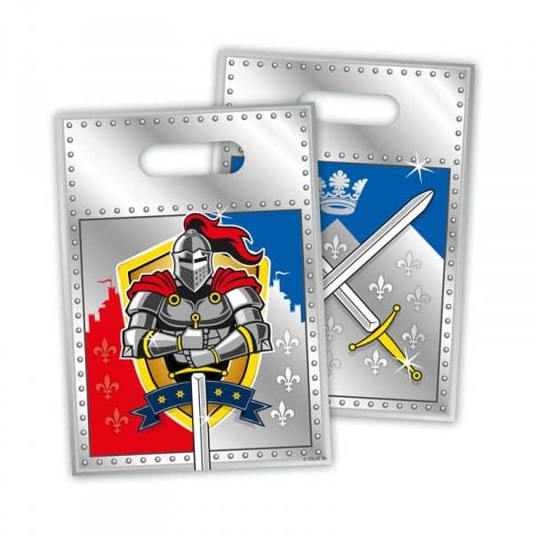 8 Mitgebseltüten für Rittergeburtstag