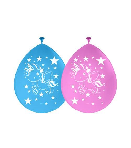 "Luftballons ""Einhorn"" - 8er Pack"