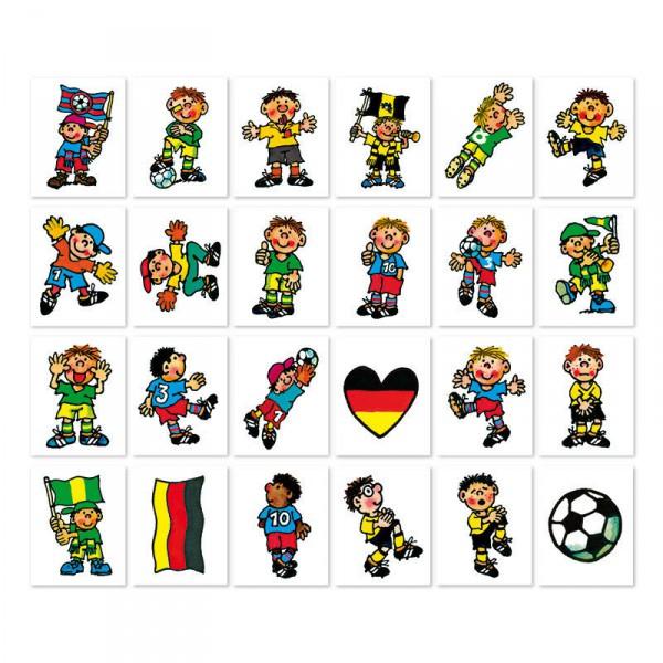 24 Tattoos mit Fussball Motiven - Fritz Flanke von Lutz Mauder