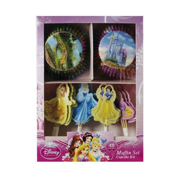 Muffin Deko Set Disney Princess