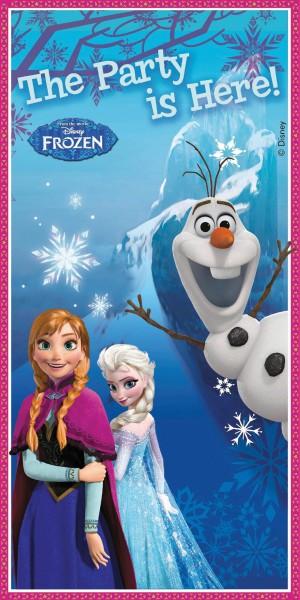 Die Eiskönigin als Poster für die Türe