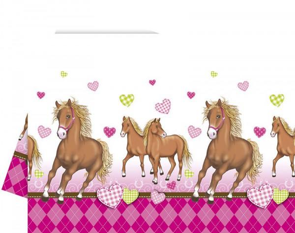 Tischdecke Pferdetraum
