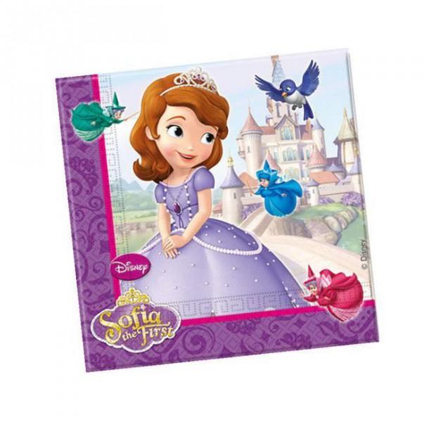 """Servietten """"Sofia die Erste - Auf einmal Prinzessin"""" 20er Pack"""