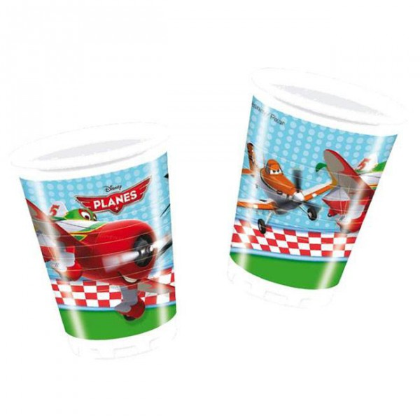 Partybecher -Disney Planes- 8er Pack, 200ml ✔ mit Dusty und Skipper ✔