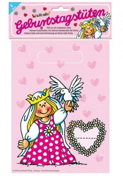 Mitgebsel Tüten Prinzessin Kindergeburtstag Mitgebsel Motto Prinzessin