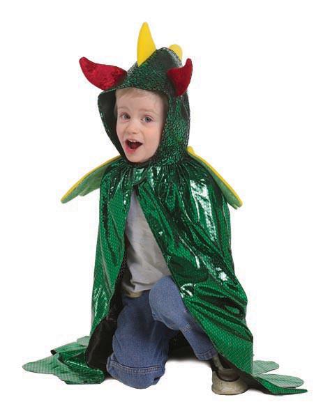 Kinderkostüme | Drachen Cape | Ideen für Kindergeburtstag Ritter und Prinzessin