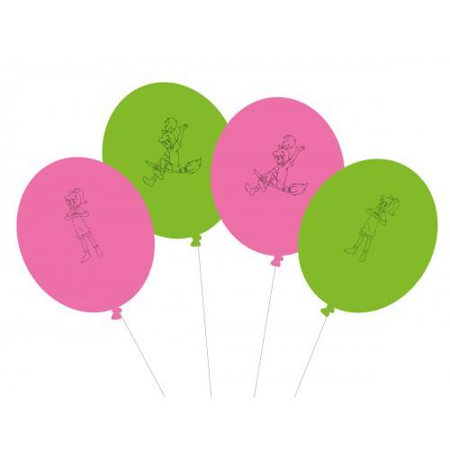 "Luftballons ""Bibi Blocksberg"" 8er Pack - Motiv Ballons Geburtstag"