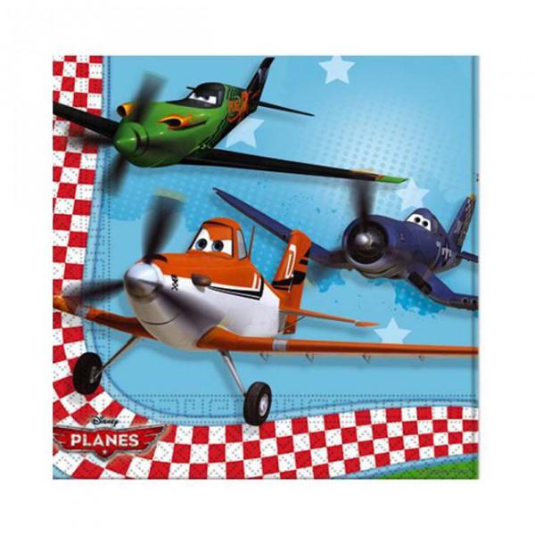 Servietten -Disney Planes- 20er Pack ✔ mit Dusty und Skipper und Ripslinger ✔