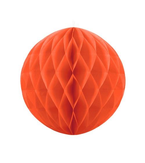 Wabenball - 20 cm - orange
