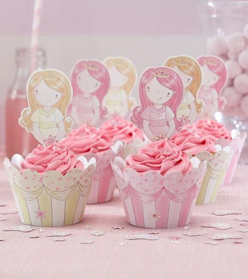 10 Cupcake-Wrapper & 10 Picks für leckere Muffins