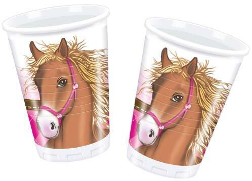 Party Trinkbecher für Pferdepartys