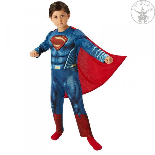Superman Deluxe Kinderkostüm 134-140 (9-10 Jahre )