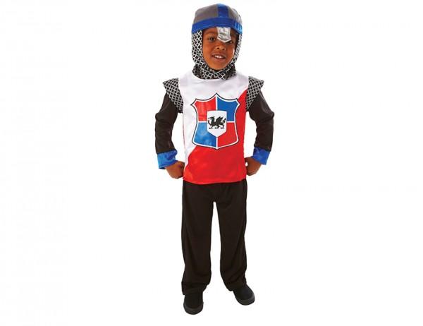 Ritterkostüm für Kinder mit Haube(Helm)