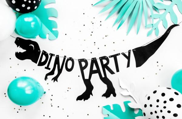 """Dekorationsbeispiel - Dinosaurier-Girlande """"Dinoparty"""" - 90 cm - Partydekoration"""