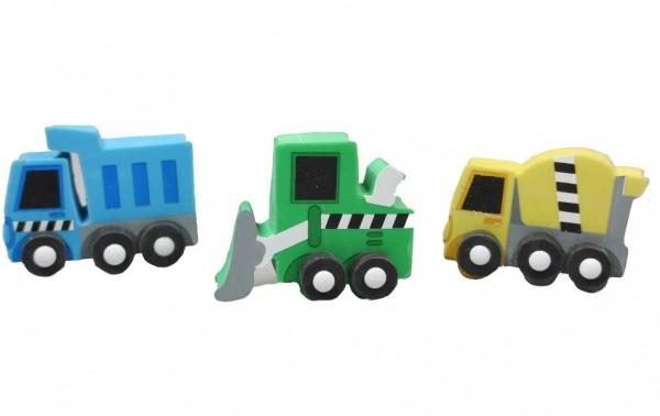 Radiergummi Baufahrzeuge
