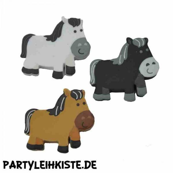 Radiergummi Pferd 3er Set