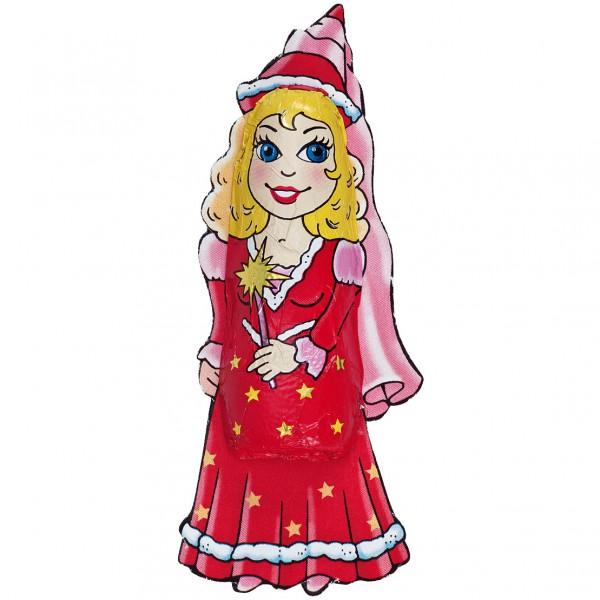 Schokoladenfigur Prinzessin aus Vollmilchschkolade