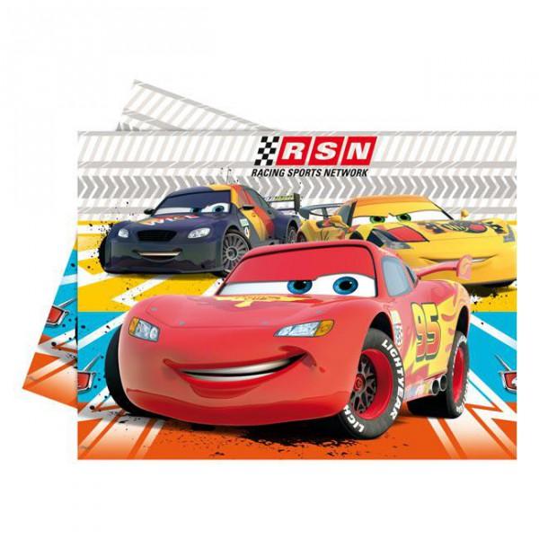 """Tischdecke """"Disney Pixar Cars"""" 120 x 180cm mit Lightning McQueen"""