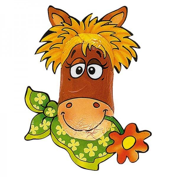 Schokoladenfigur Pferd - Füllung für Mitgebseltüte Pferdeparty