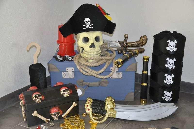 kindergeburtstag Verleihkiste Piraten