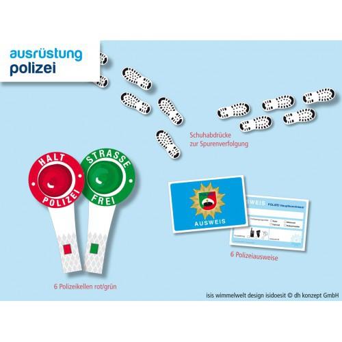 Polizei Ausrüstung für Kindergeburtstage