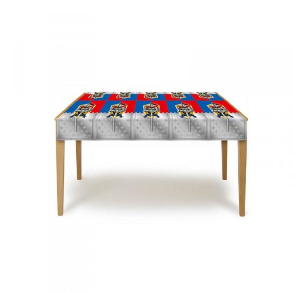 Tischdecke aus Kunststoff Mottoparty Ritter